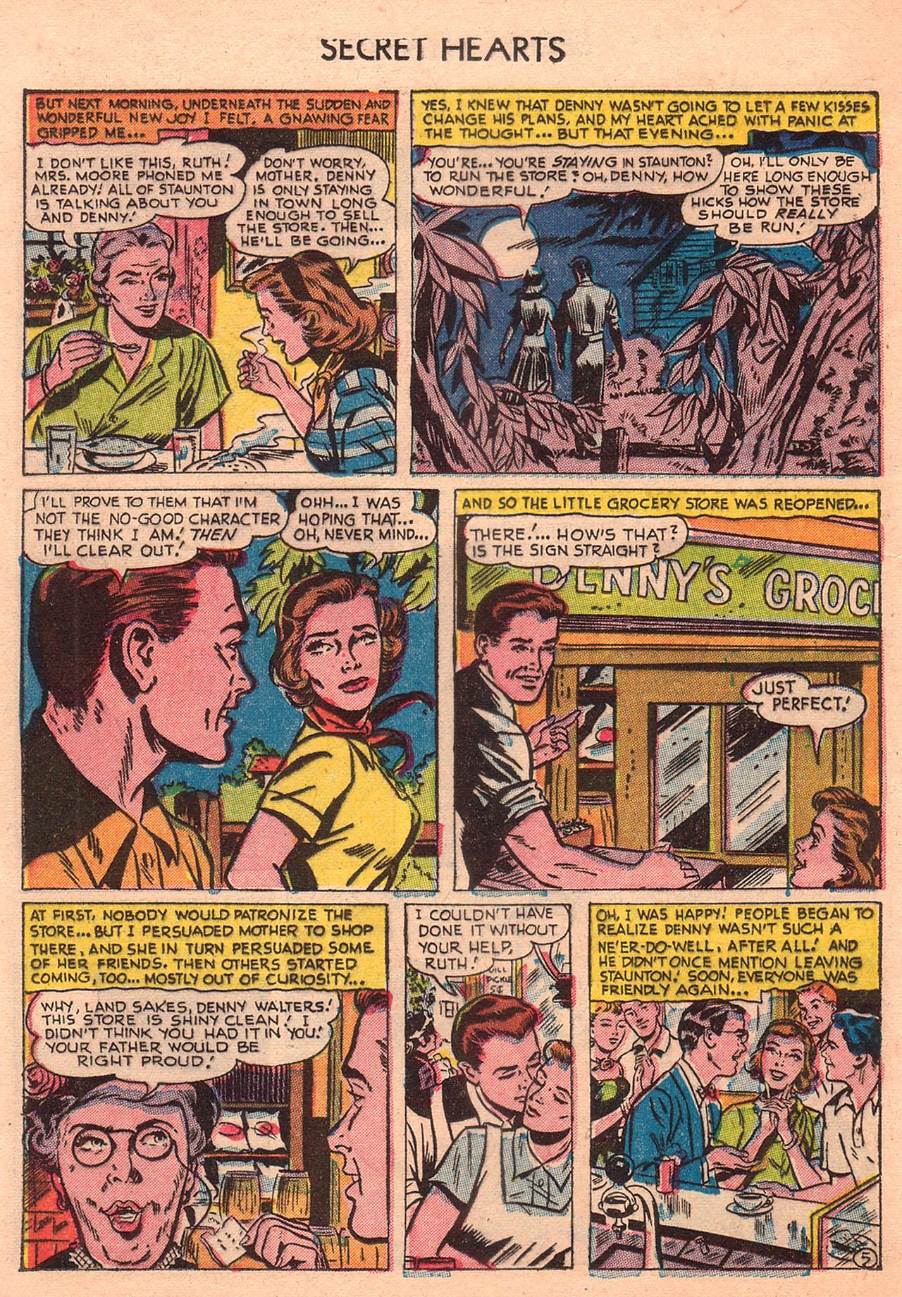 Read online Secret Hearts comic -  Issue #23 - 20