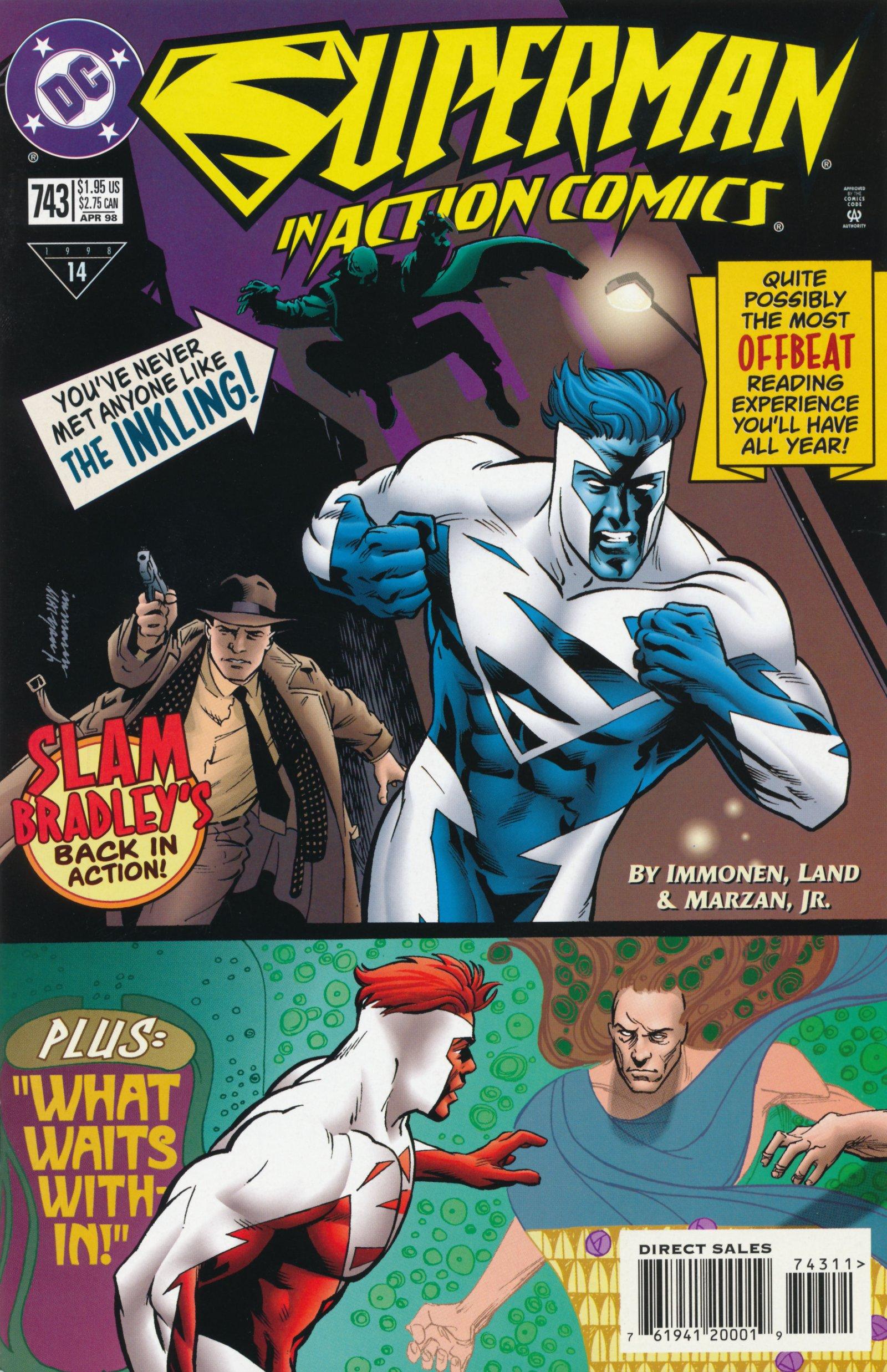 Action Comics (1938) 743 Page 1