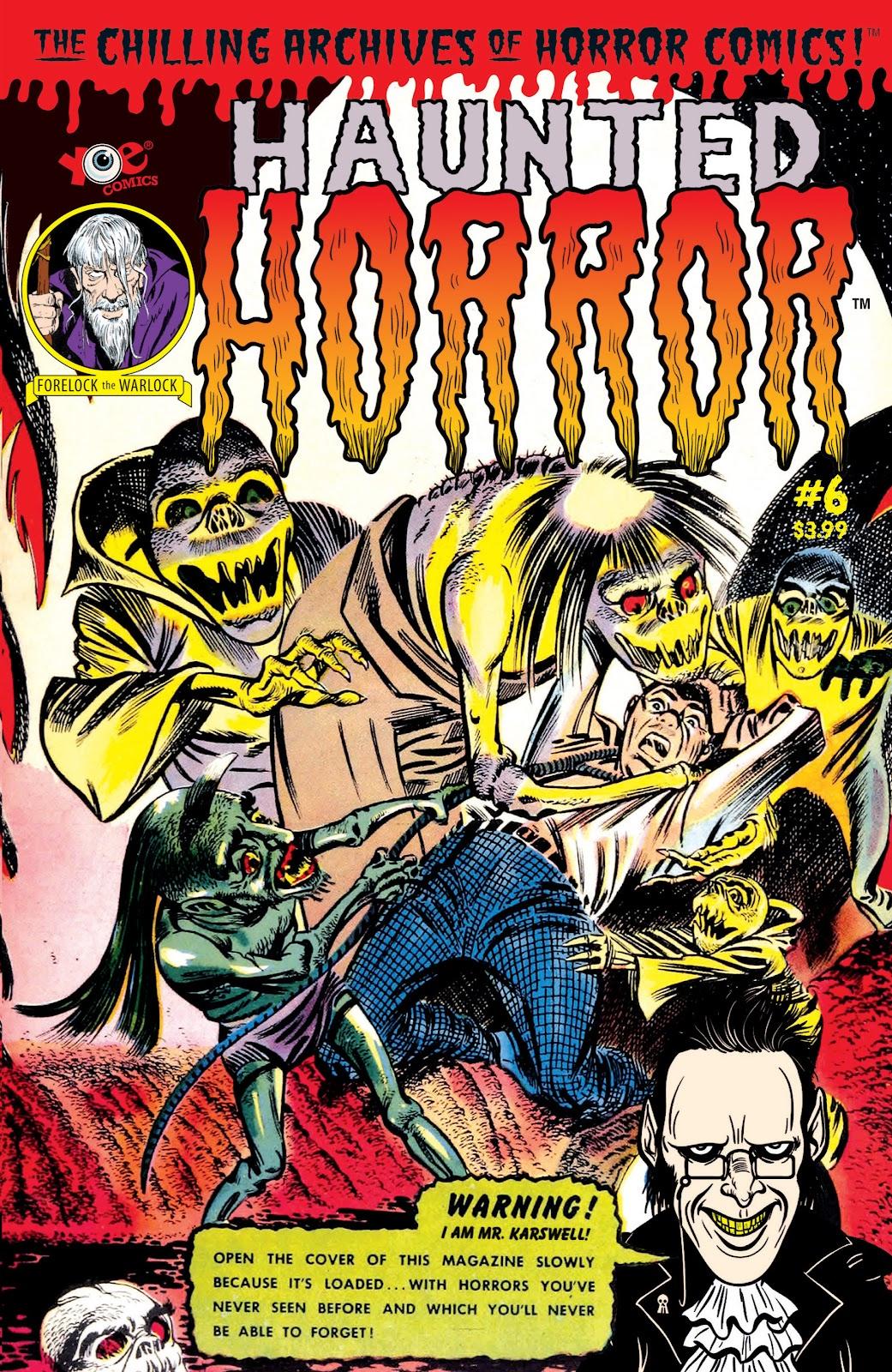 Haunted Horror Issue #6 #6 - English 1