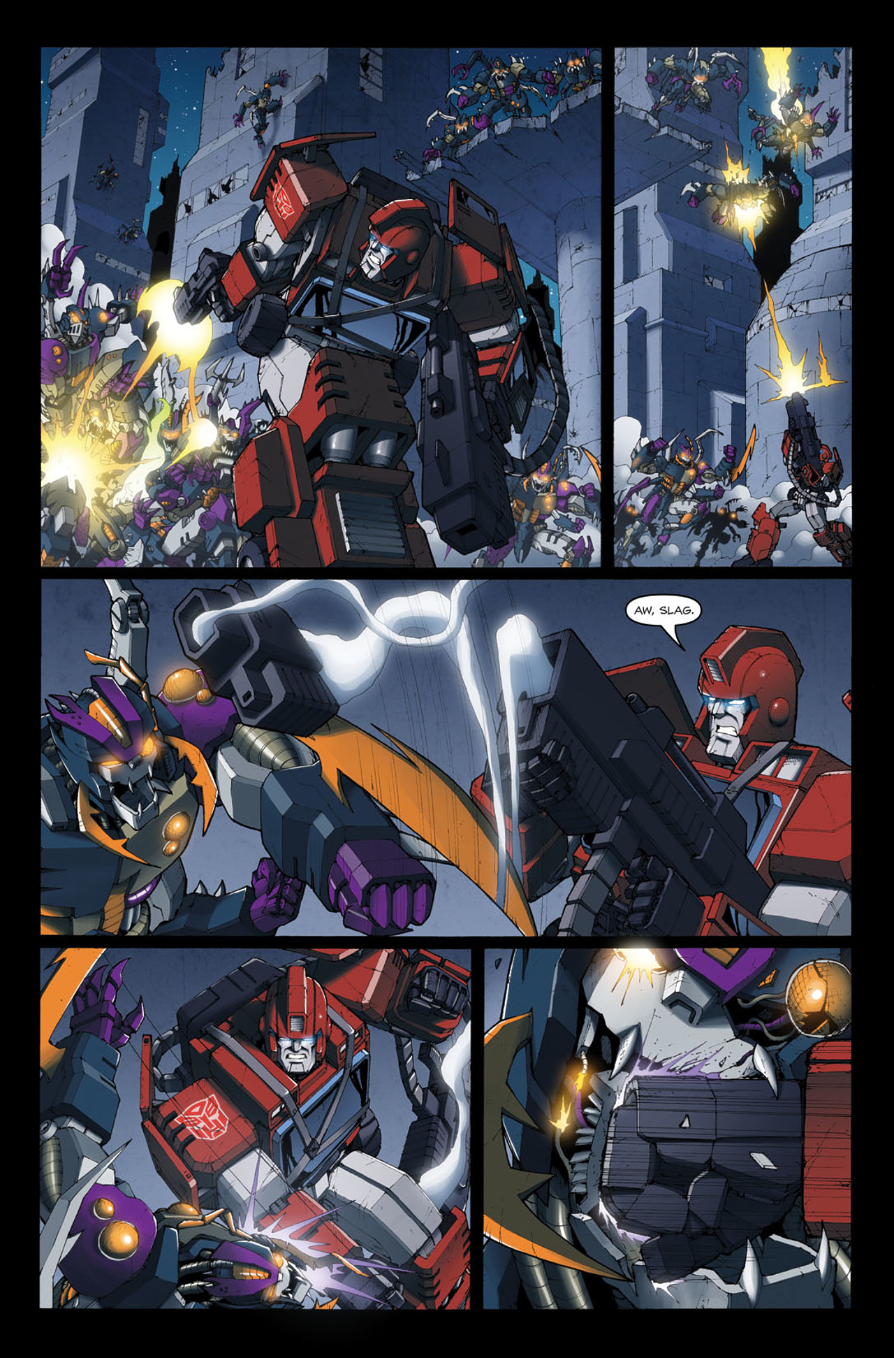 Read online The Transformers: Ironhide comic -  Issue #4 - 6