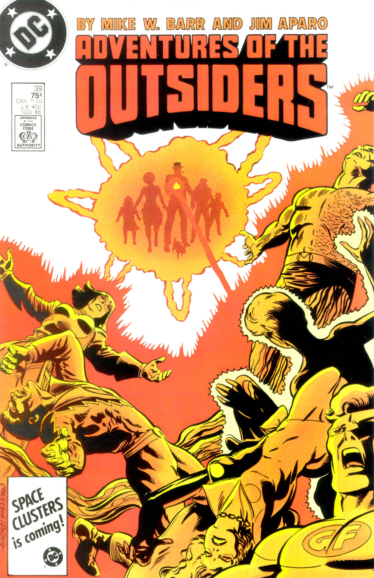 Adventures of the Outsiders 39 Page 1
