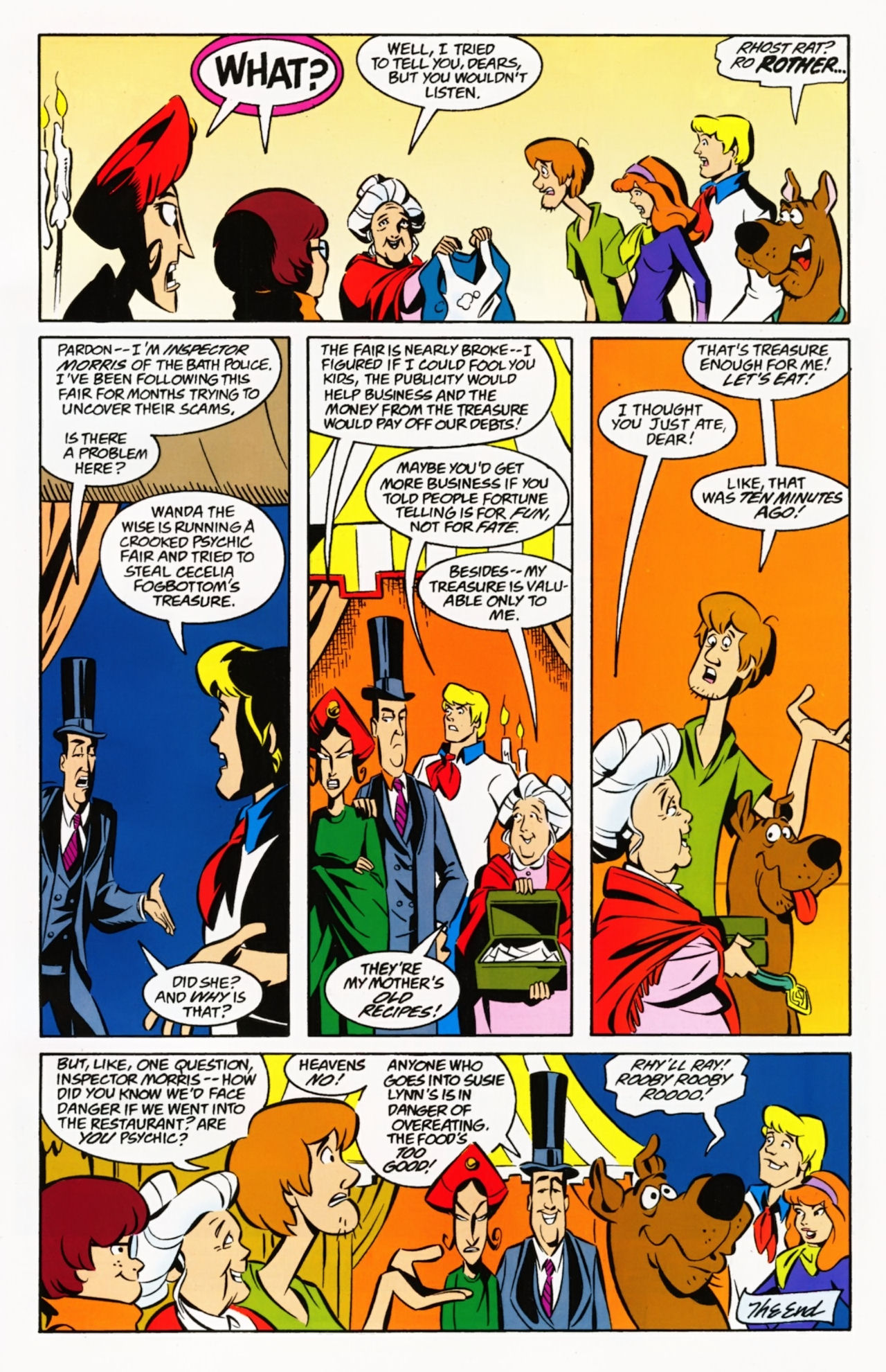 Read online Scooby-Doo: Where Are You? comic -  Issue #8 - 33