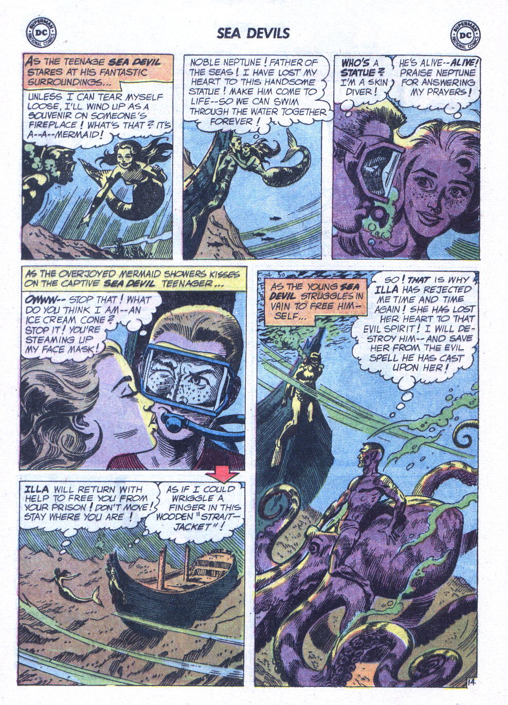 Read online Sea Devils comic -  Issue #6 - 21
