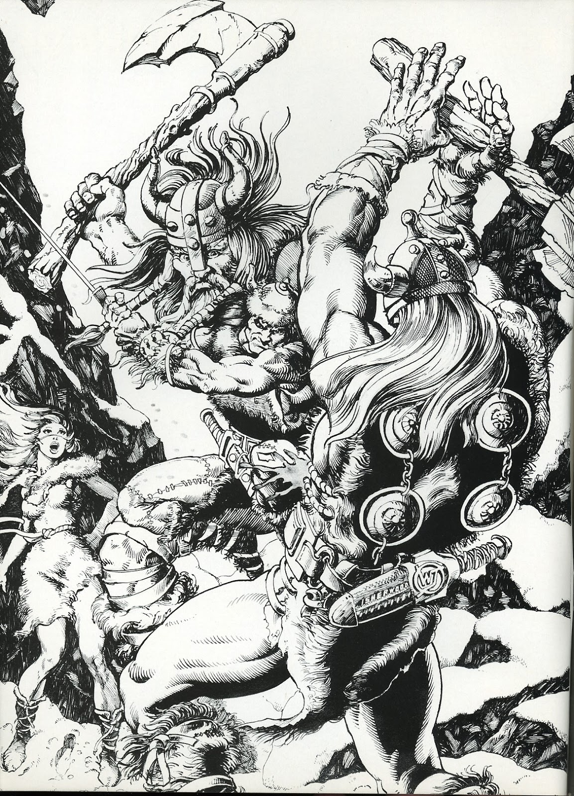 The Savage Sword Of Conan Issue #111 #112 - English 2