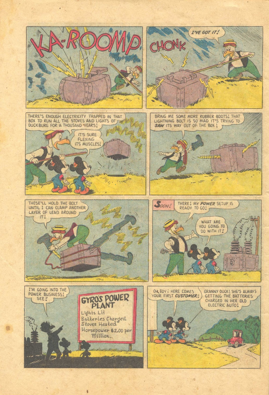 Uncle Scrooge (1953) Issue #13 #13 - English 32