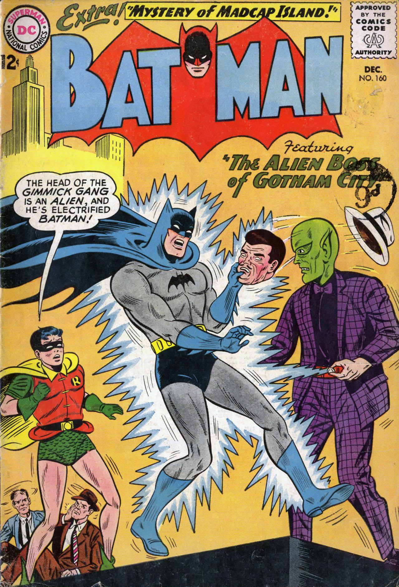 Batman (1940) 160 Page 1