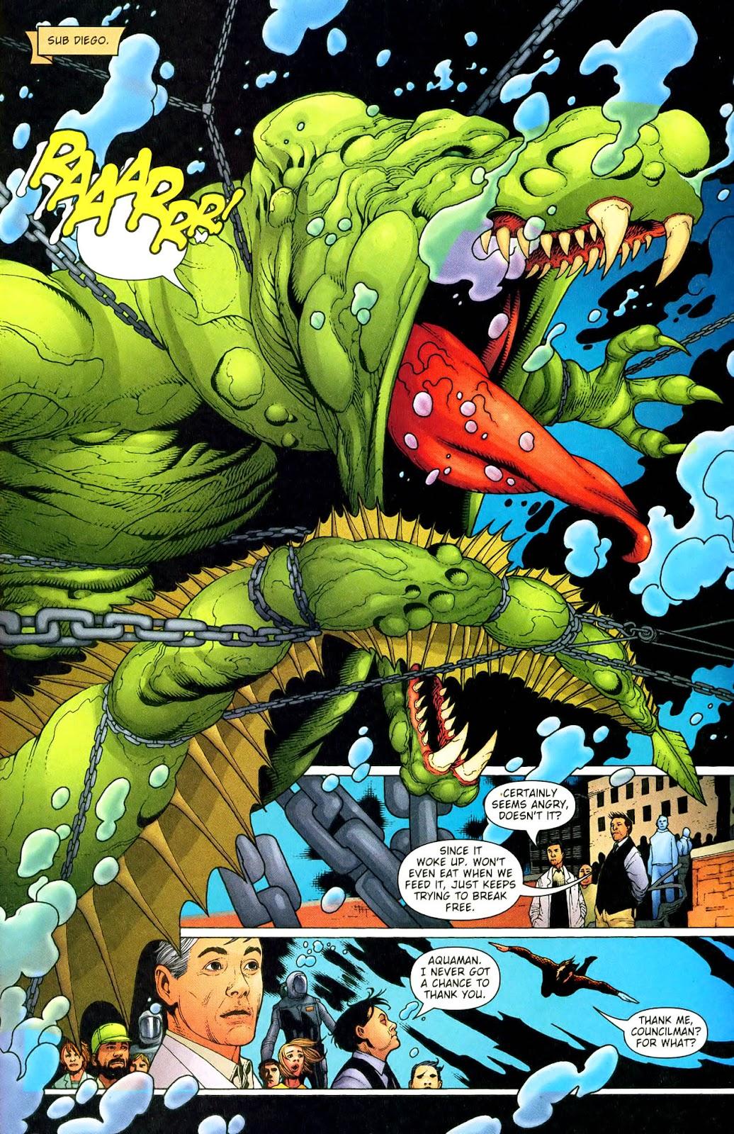 Aquaman (2003) Issue #33 #33 - English 6