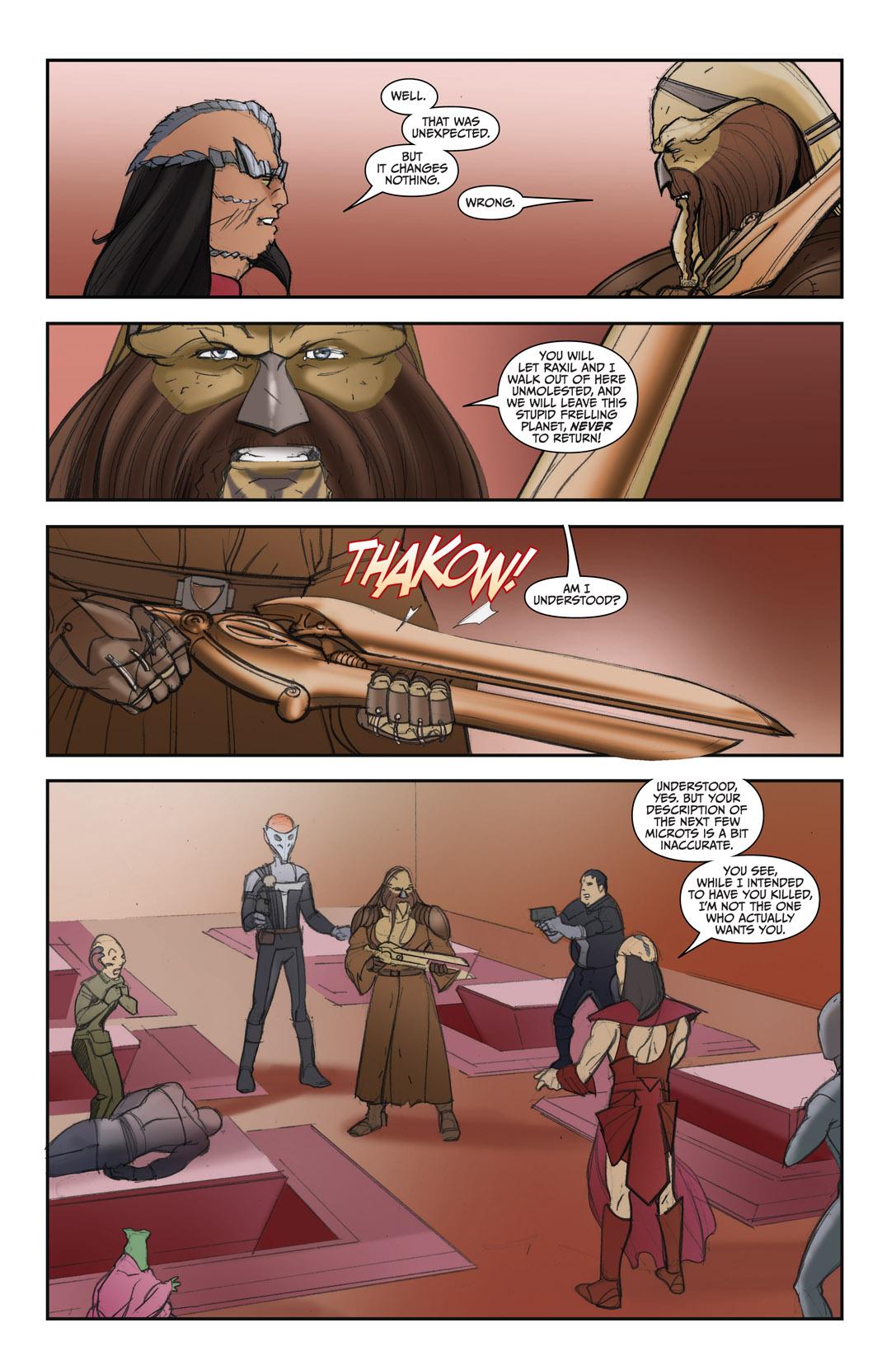 Read online Farscape: D'Argo's Quest comic -  Issue #4 - 18