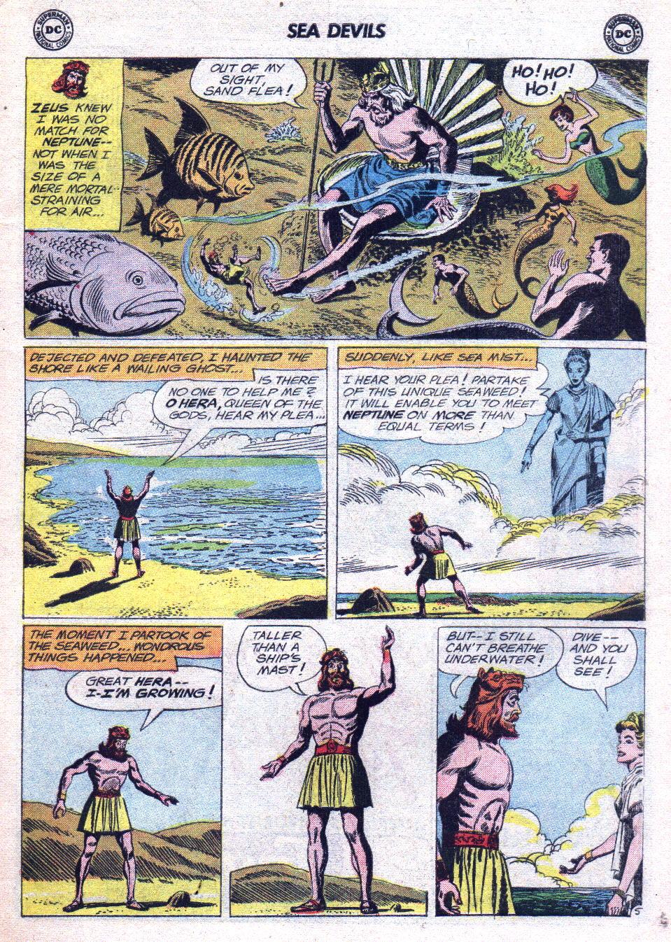 Read online Sea Devils comic -  Issue #14 - 7