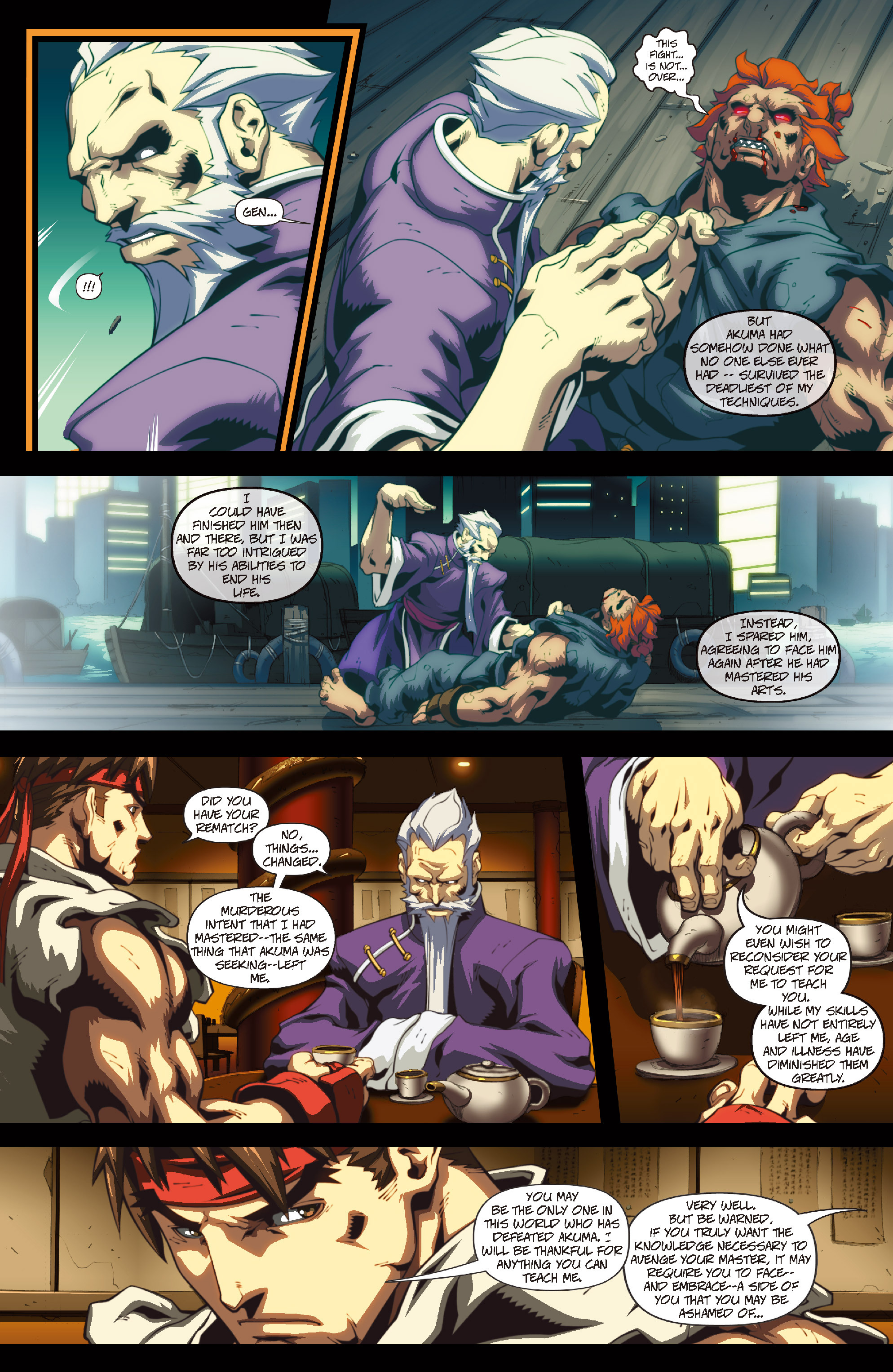 Street Fighter II chap 4 pic 8