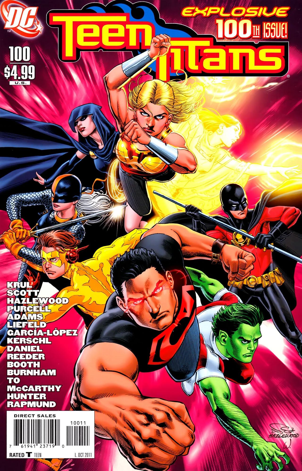Teen Titans (2003) #100 #110 - English 1