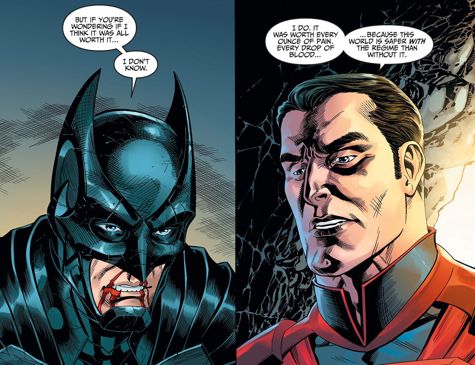 Injustice: Gods Among Us: Year Five Issue #40 #41 - English 5
