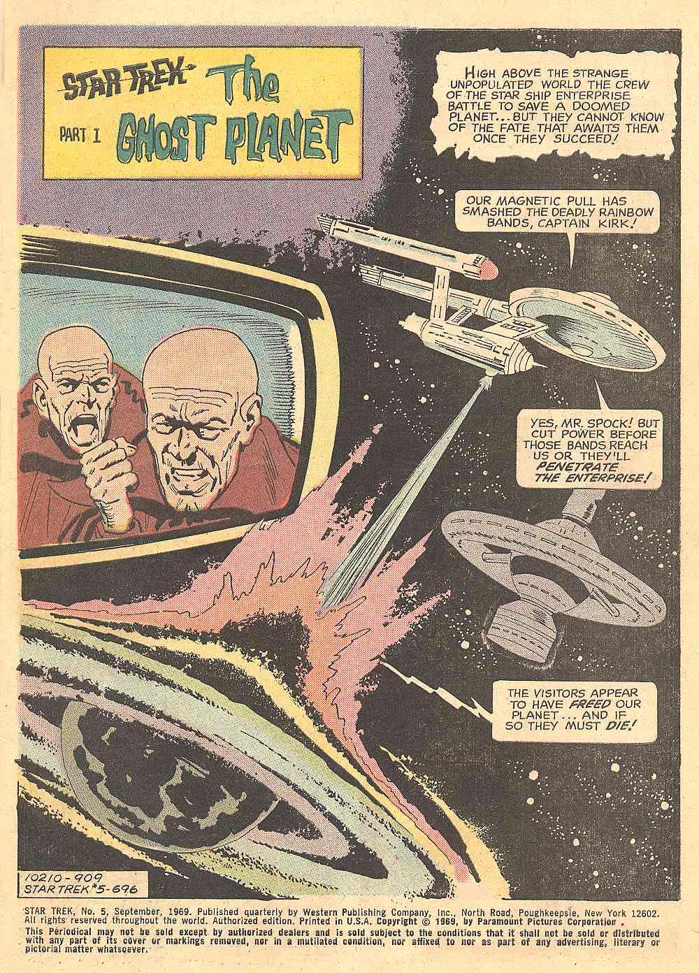 Star Trek (1967) Issue #5 #5 - English 2