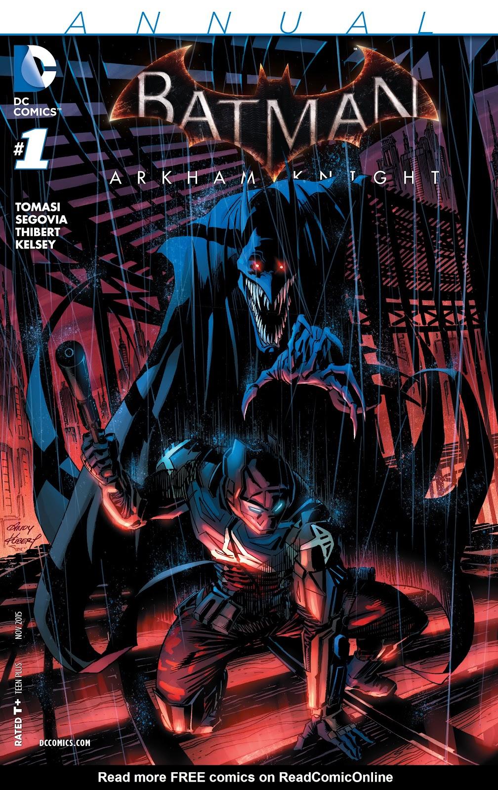 Batman: Arkham Knight [I] _Annual 1 #1 - English 1