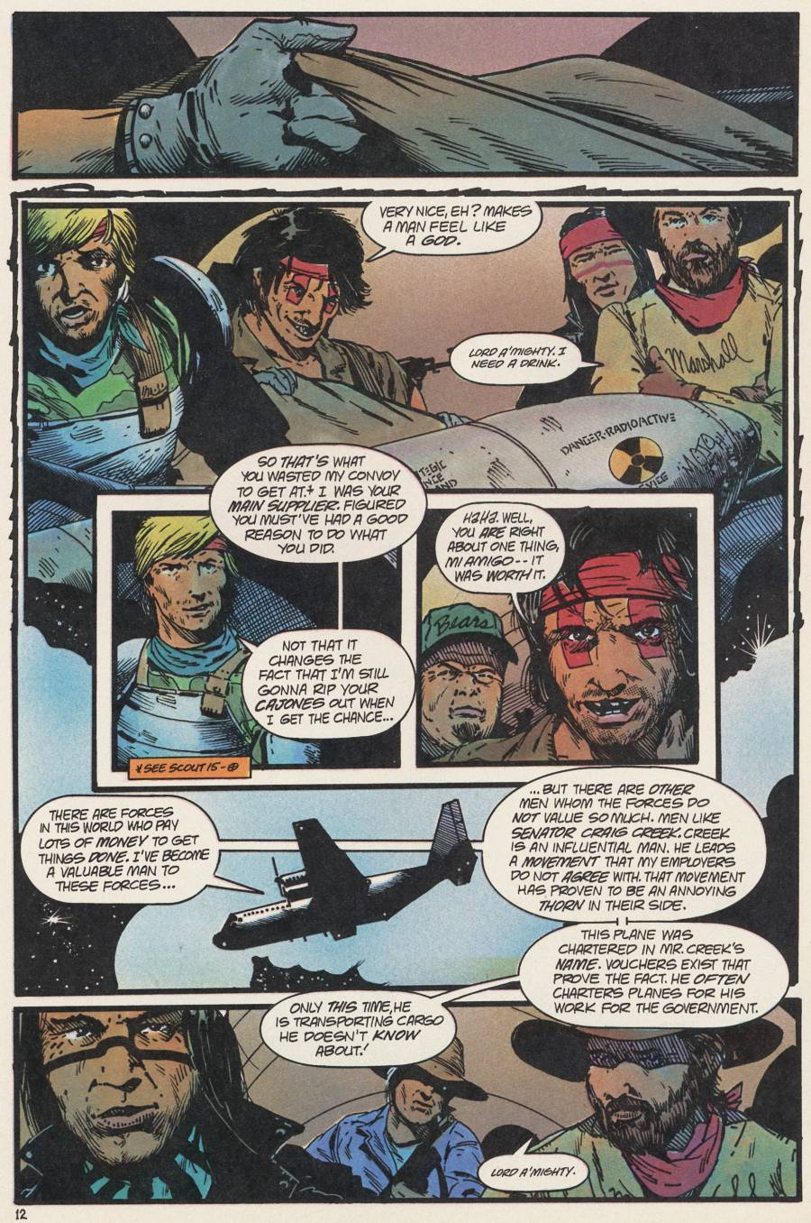 Read online Scout comic -  Issue #20 - 22