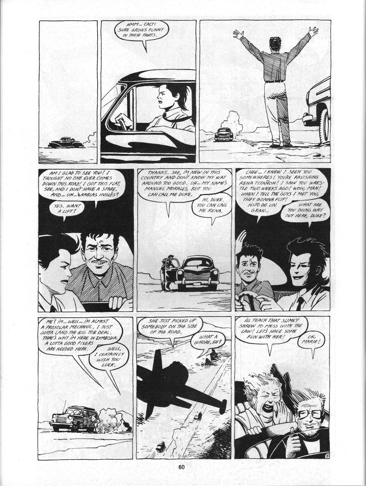 Love and Rockets (1982) Issue #3 #2 - English 62