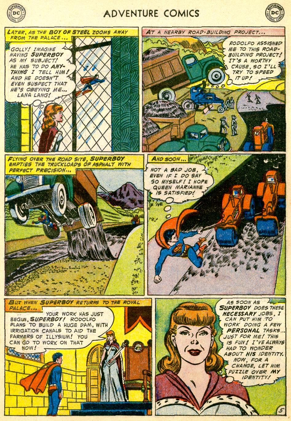 Read online Adventure Comics (1938) comic -  Issue #192 - 7