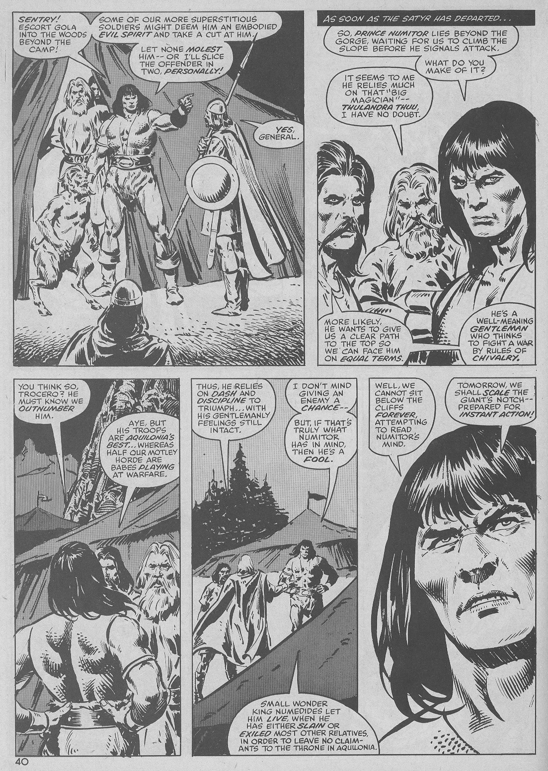 The Savage Sword Of Conan Issue #51 #52 - English 40