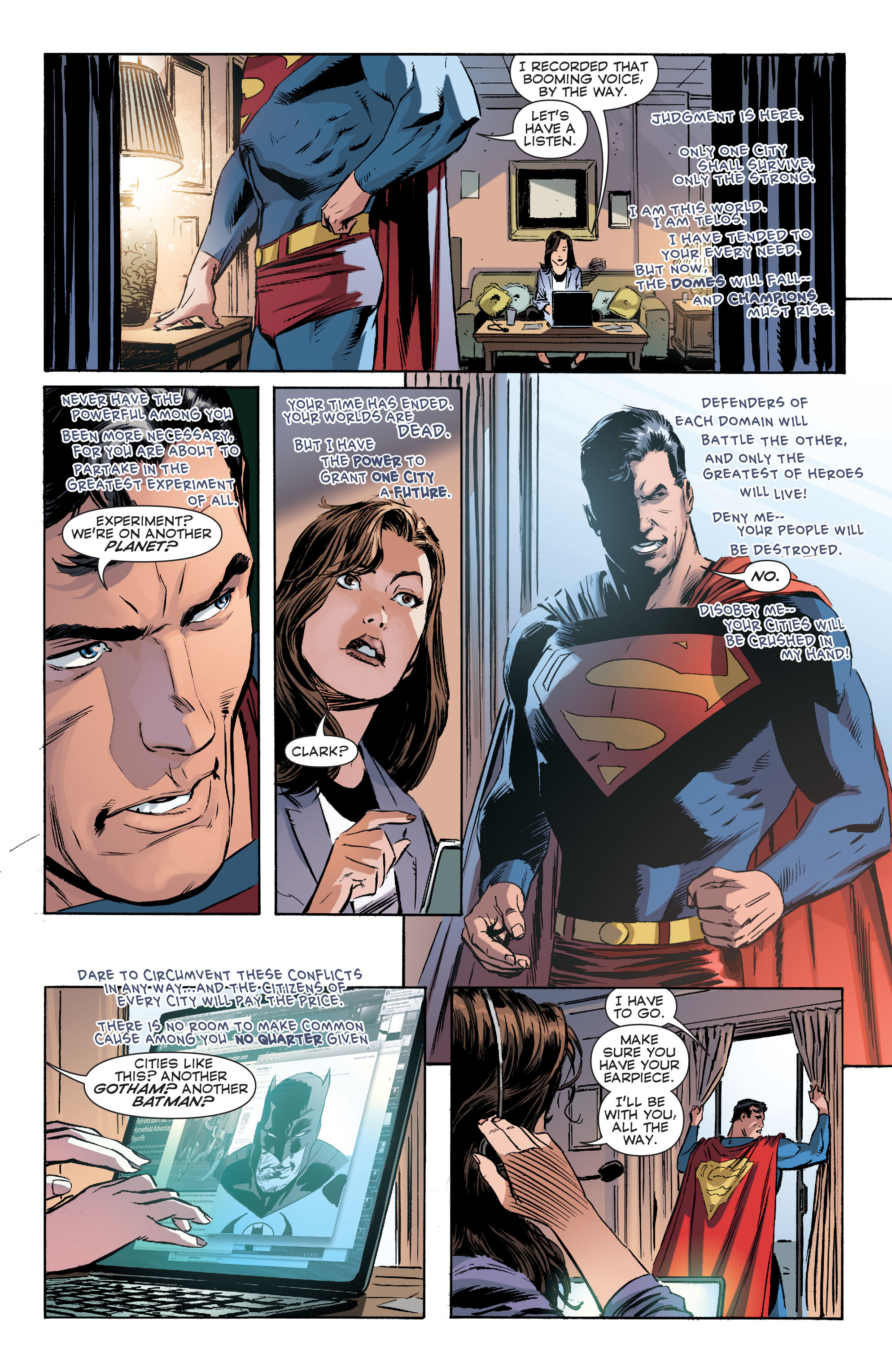 Read online Convergence Superman comic -  Issue #1 - 12
