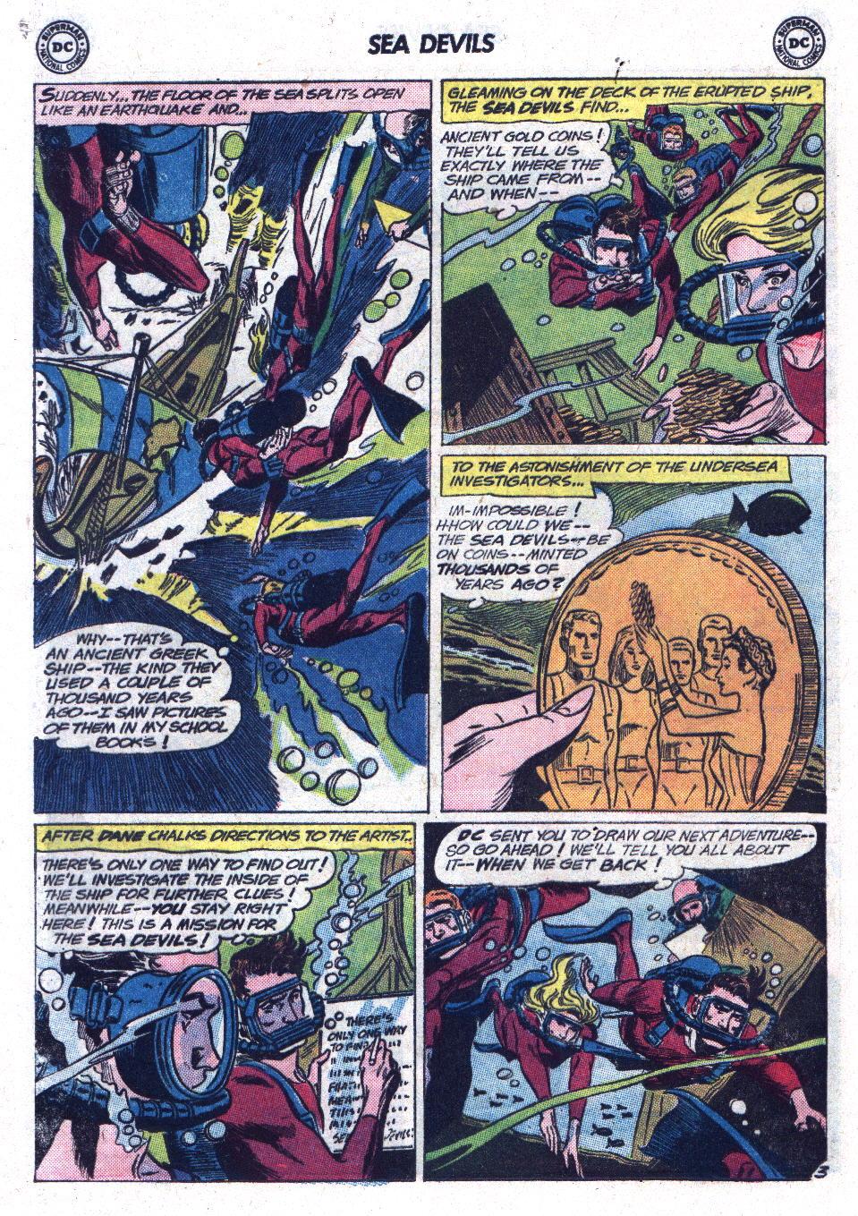 Read online Sea Devils comic -  Issue #13 - 16