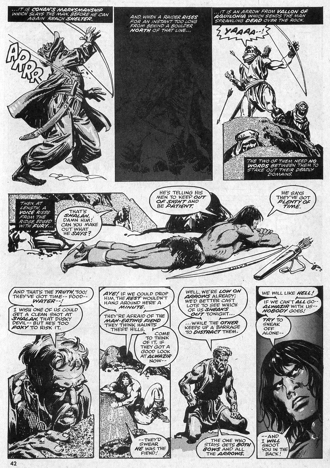 The Savage Sword Of Conan Issue #28 #29 - English 42