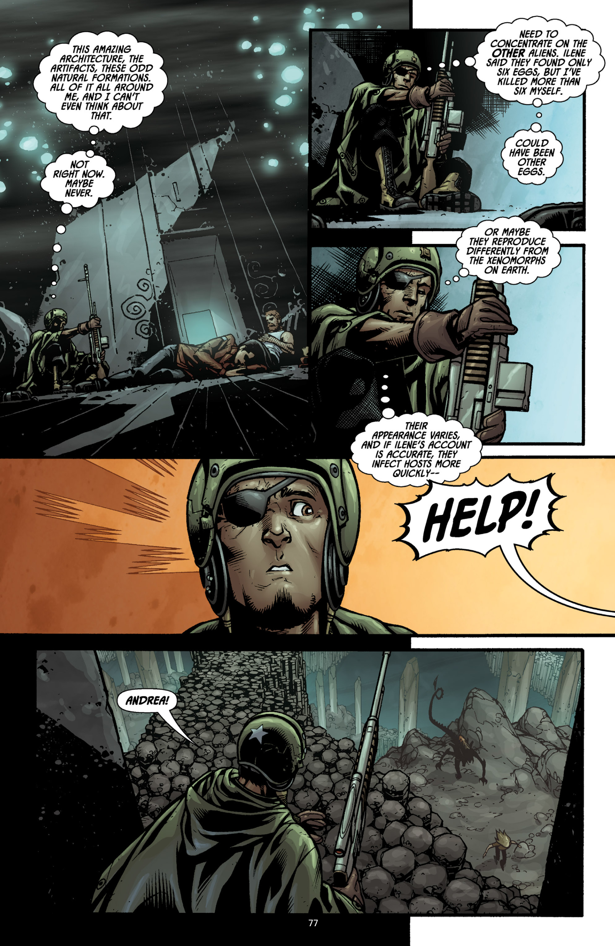 Aliens (2009) TPB Page 72