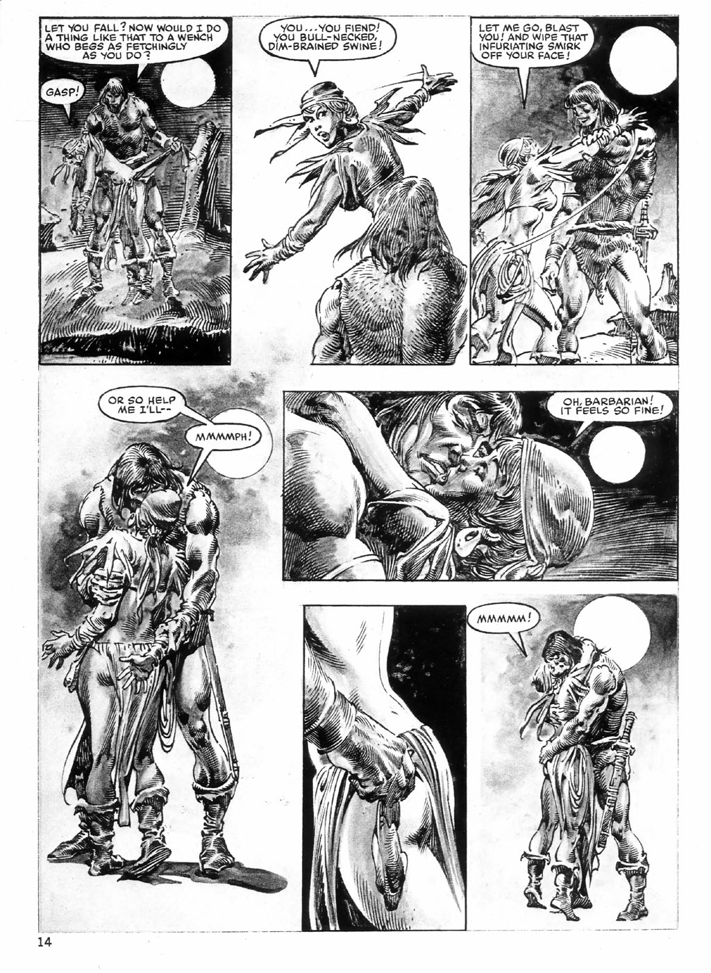 The Savage Sword Of Conan Issue #98 #99 - English 14