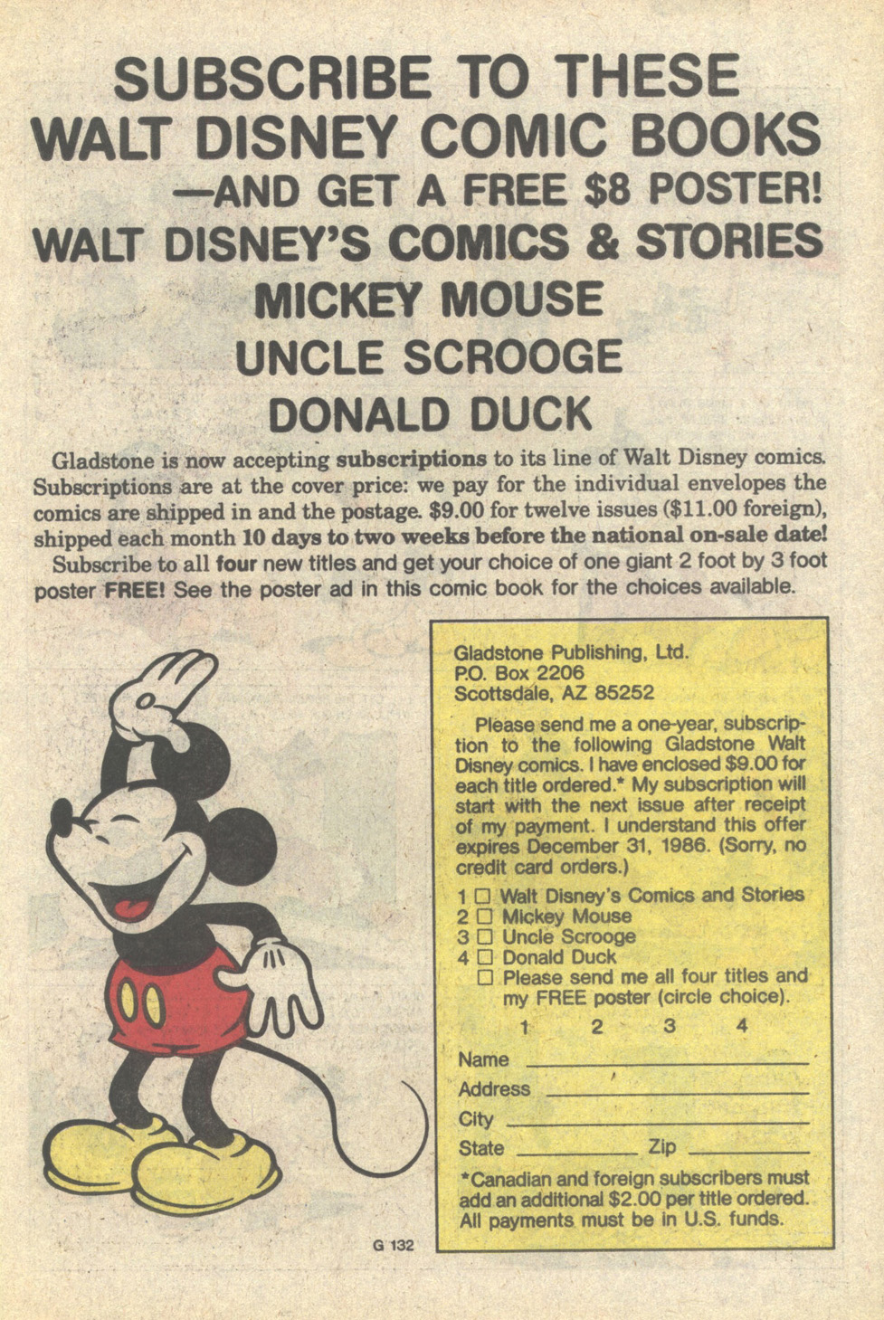 Uncle Scrooge (1953) Issue #215 #215 - English 11