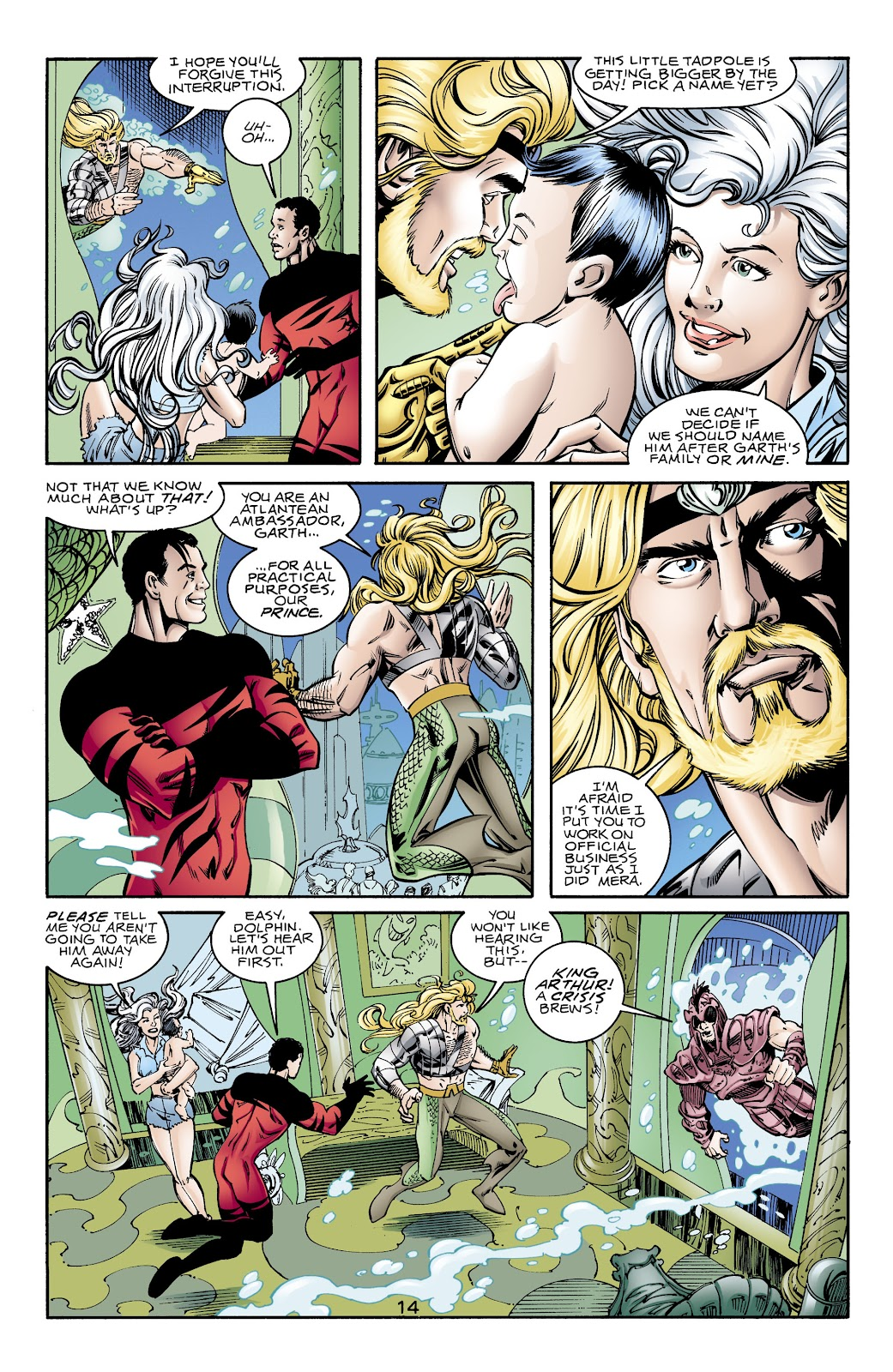 Aquaman (1994) Issue #70 #76 - English 14
