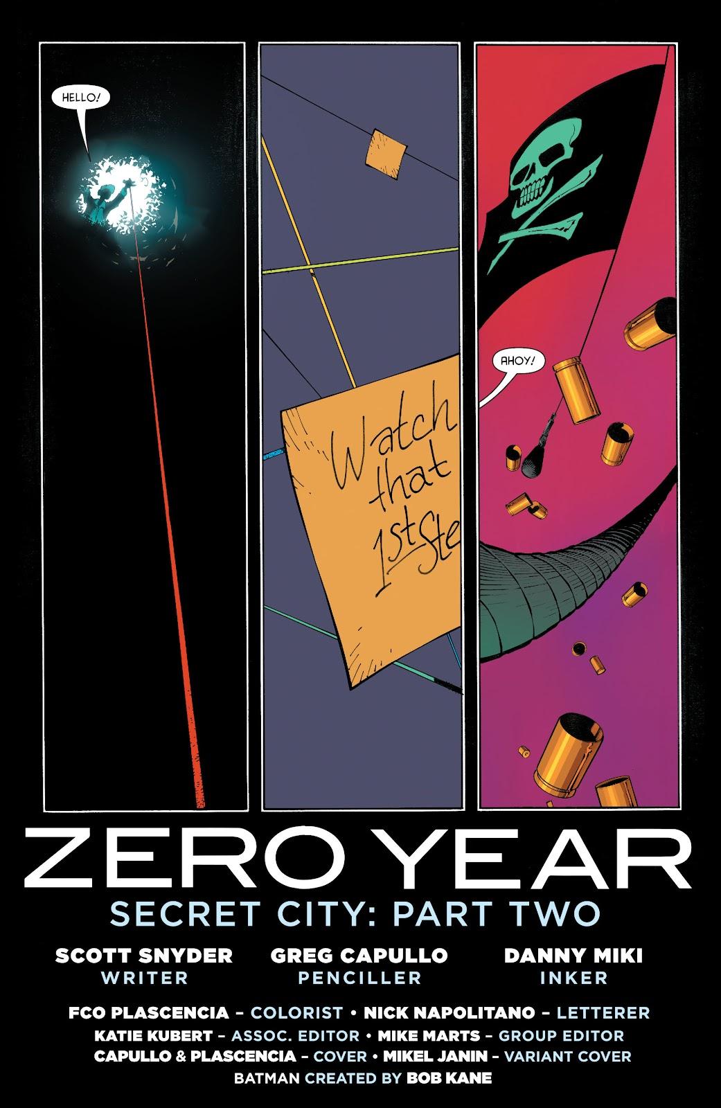 Batman (2011) Issue #22 #37 - English 2