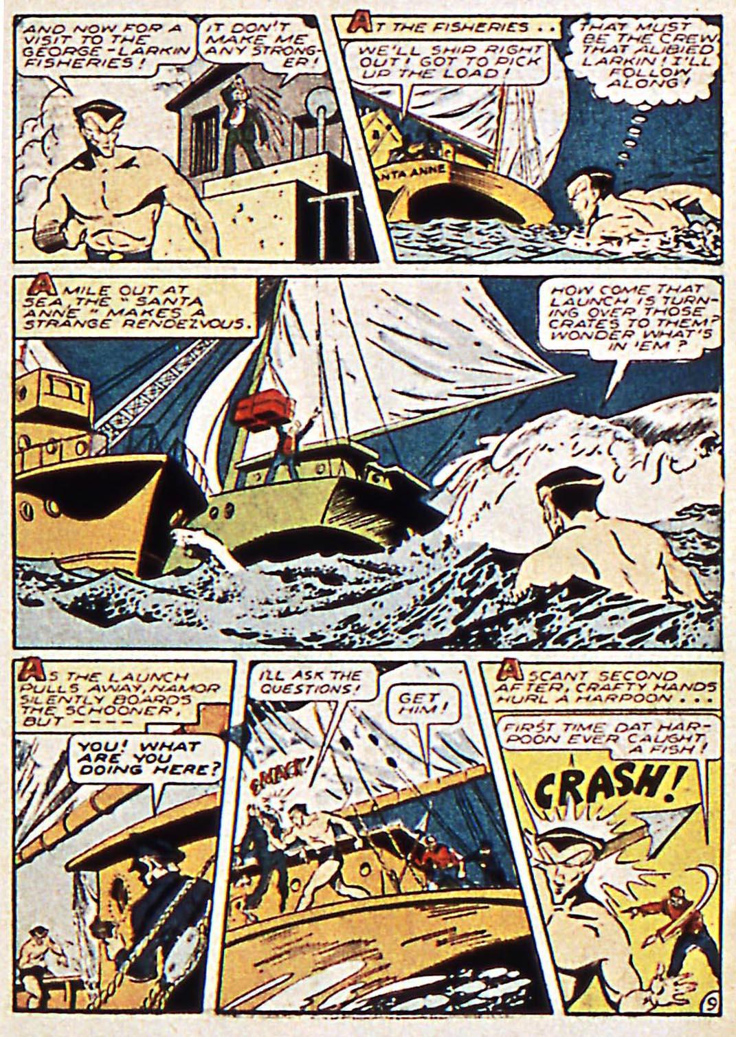 Sub-Mariner Comics Issue #17 #17 - English 11