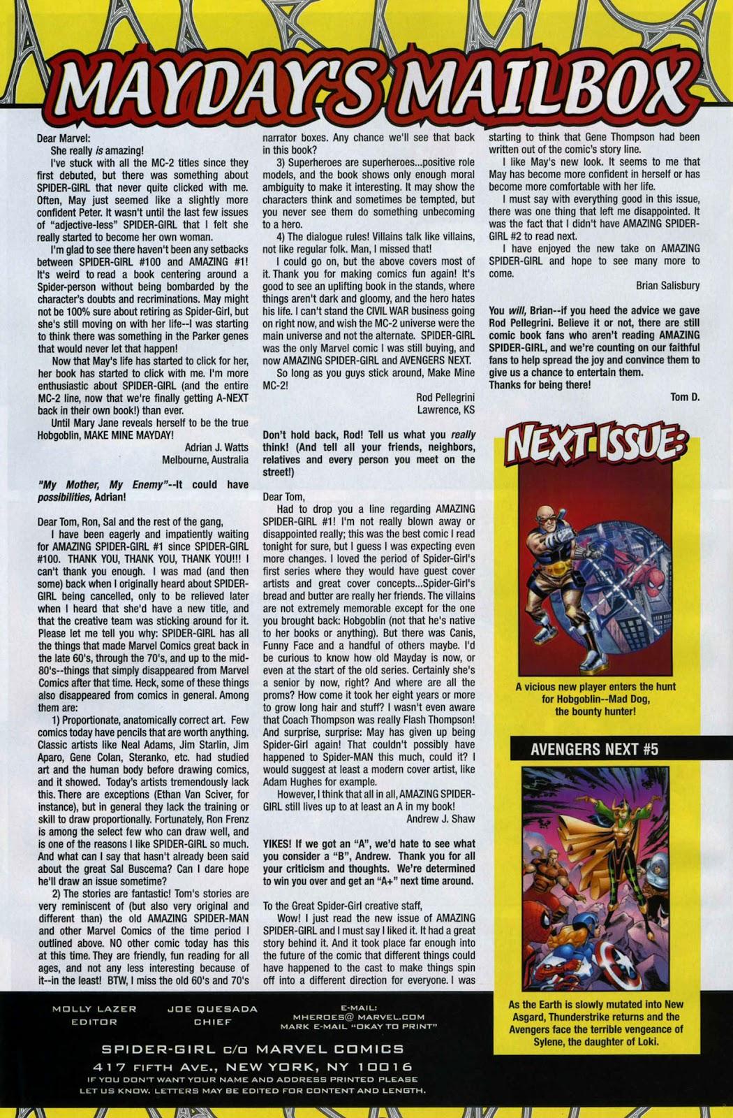 Amazing Spider-Girl Issue #3 #4 - English 22