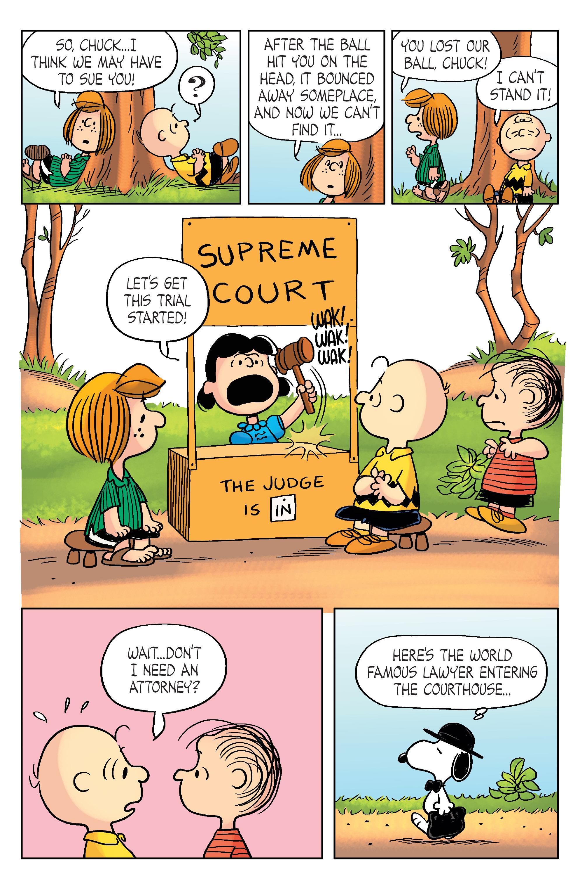 Read online Peanuts (2012) comic -  Issue #20 - 19