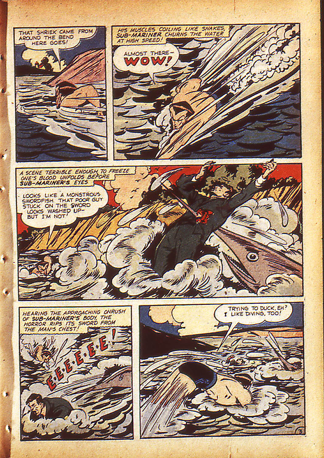 Sub-Mariner Comics Issue #10 #10 - English 6