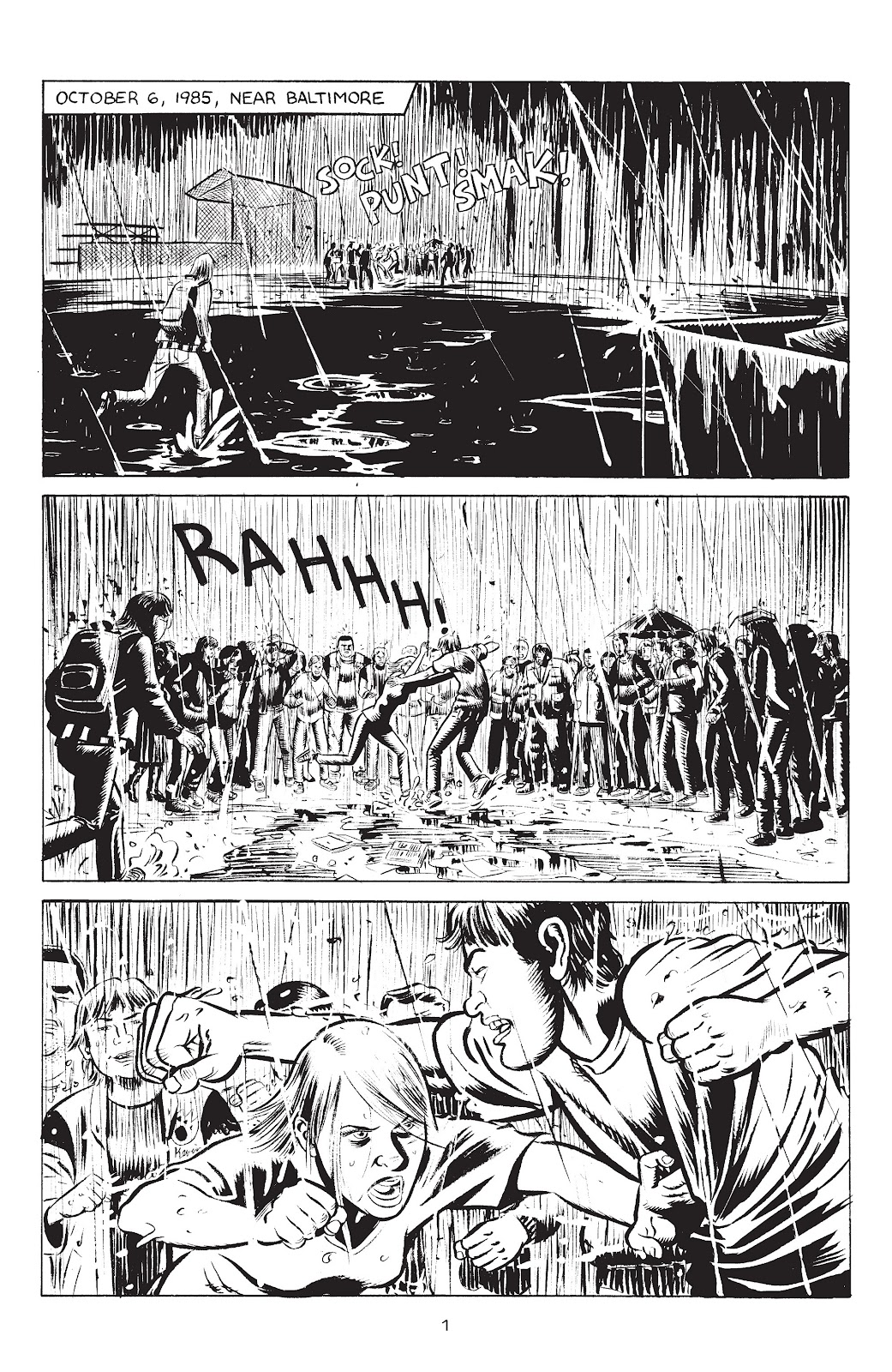 Stray Bullets Issue #33 #33 - English 3