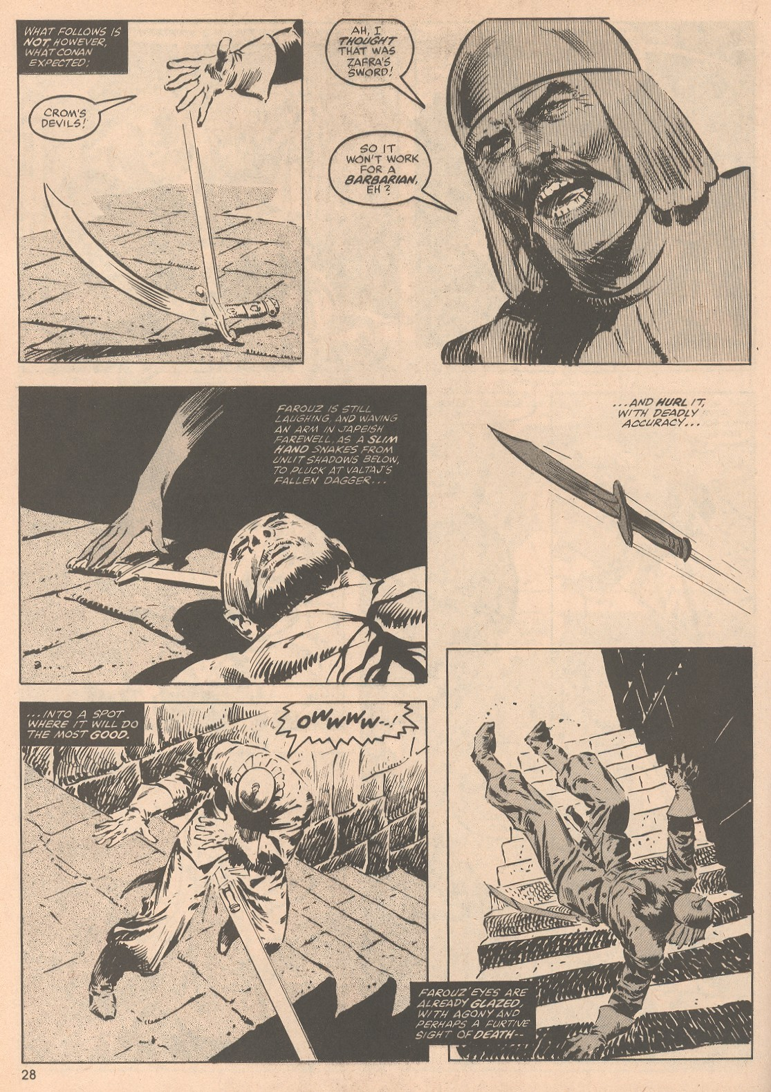 The Savage Sword Of Conan Issue #58 #59 - English 29
