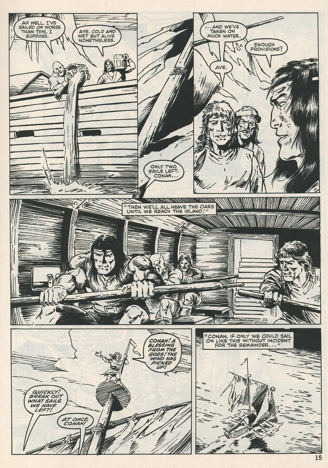 The Savage Sword Of Conan Issue #115 #116 - English 15