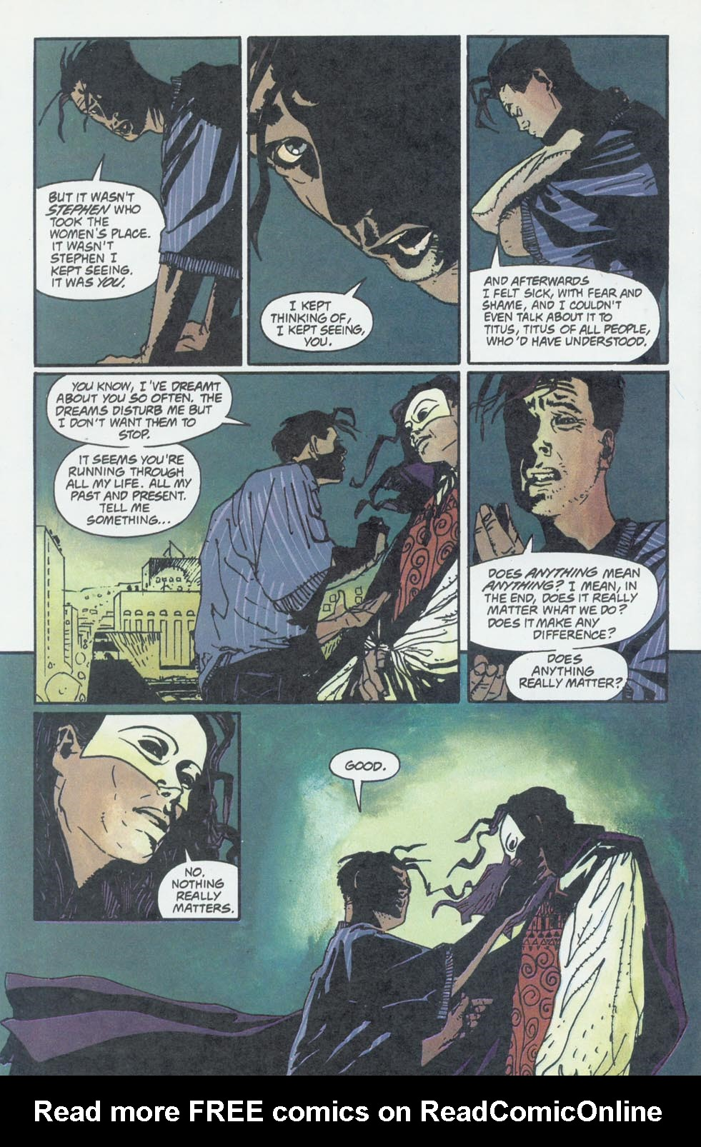 Read online Enigma comic -  Issue #6 - 25