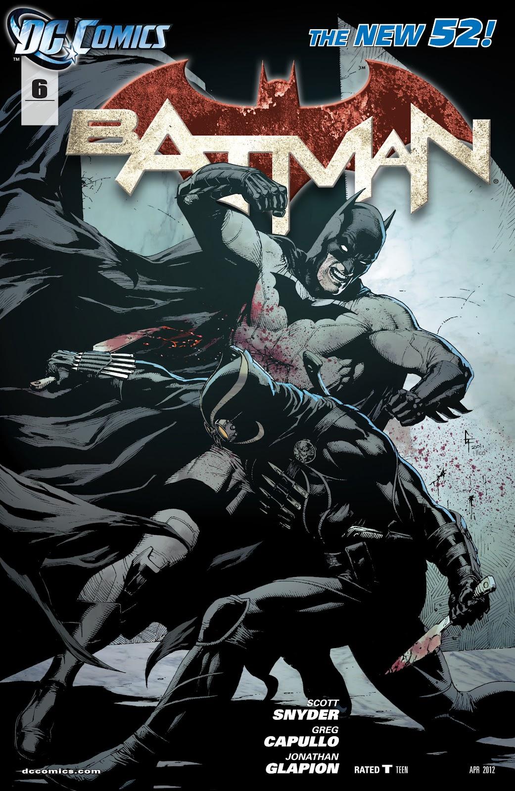 Batman (2011) Issue #6 #21 - English 2