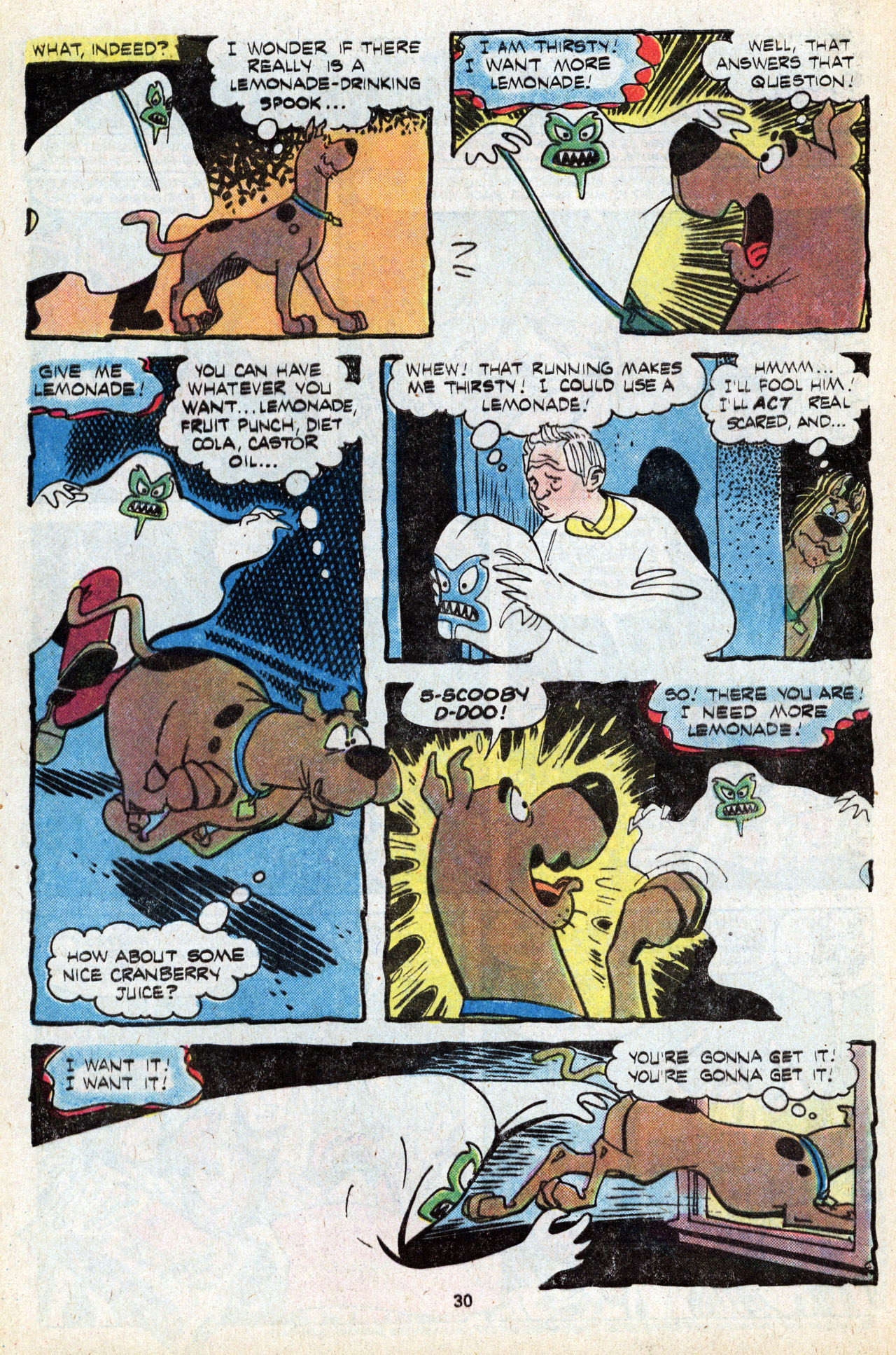 Read online Scooby-Doo (1977) comic -  Issue #5 - 32