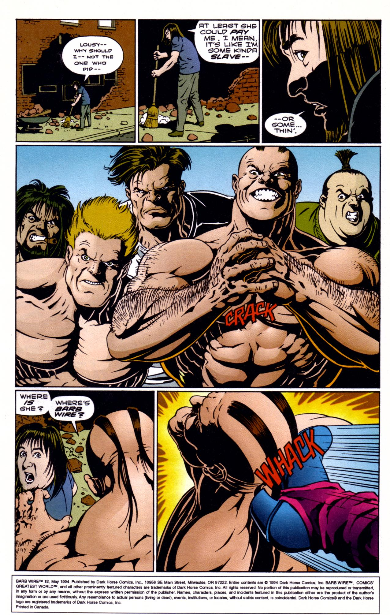 Barb Wire (1994) 2 Page 1
