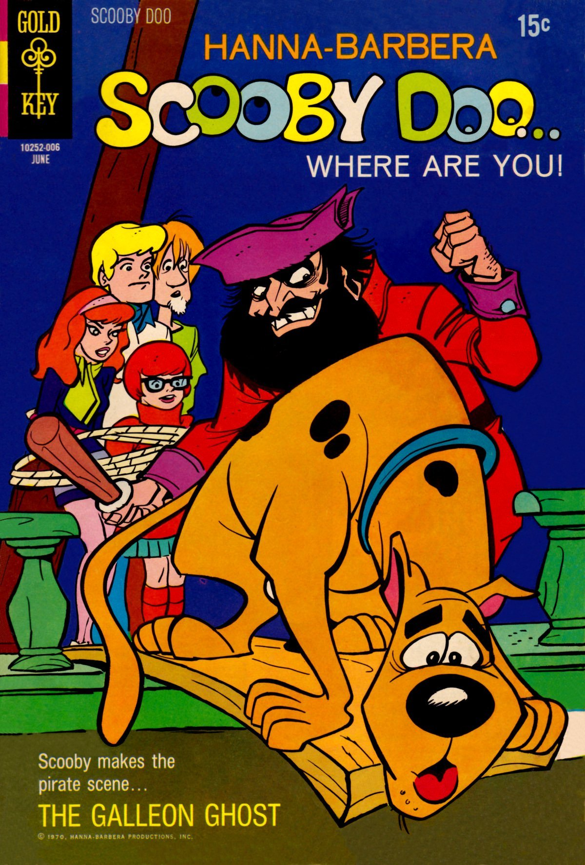 Read online Scooby-Doo... Where Are You! (1970) comic -  Issue #2 - 1