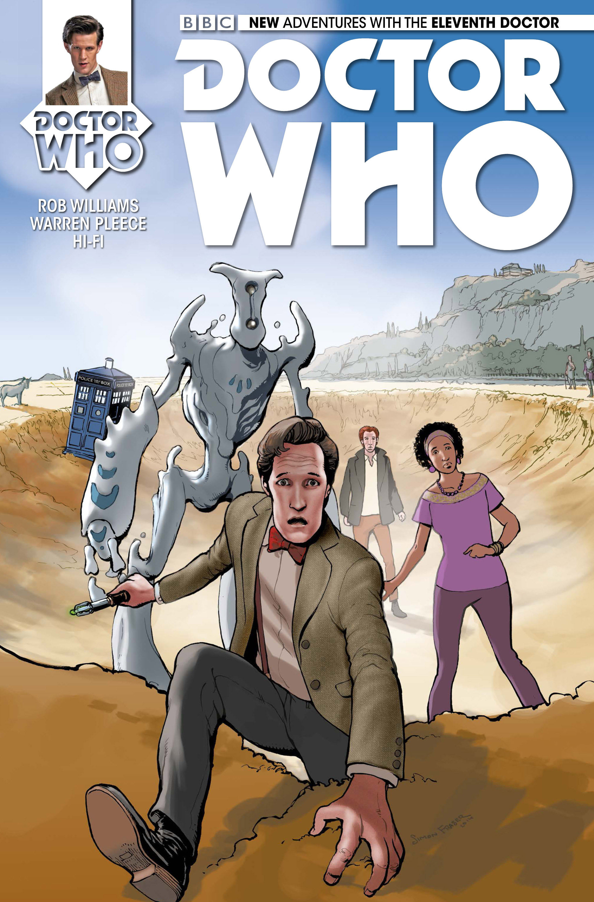 Doctor Who: The Eleventh Doctor 12 Page 1