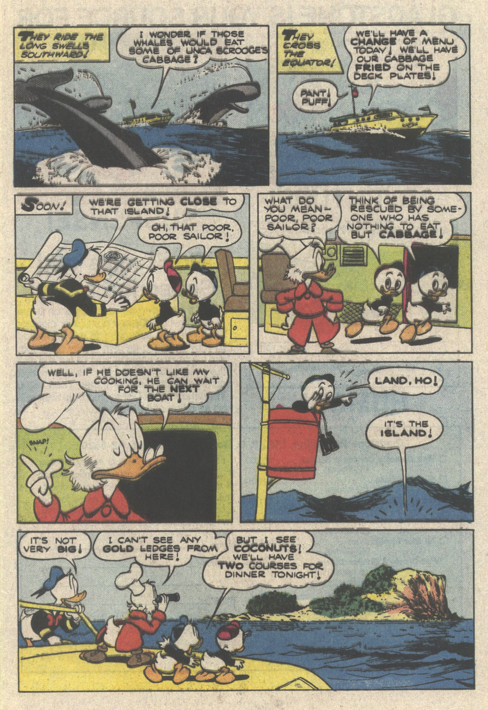 Uncle Scrooge (1953) Issue #222 #222 - English 9