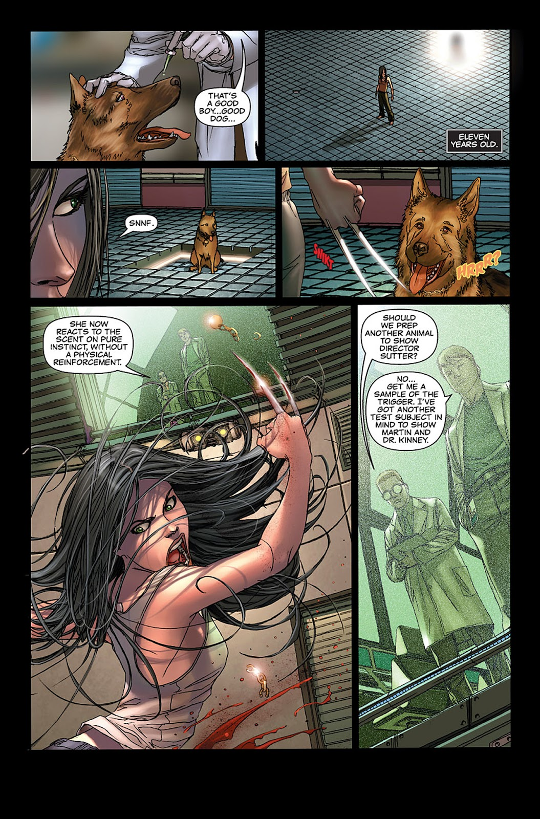 X-23: Target X Issue #3 #3 - English 4