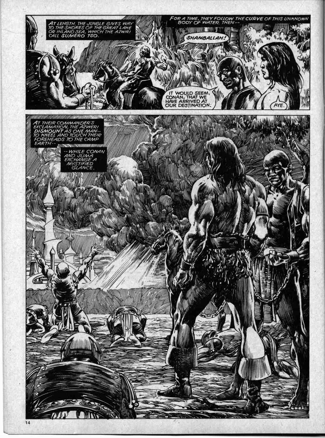 The Savage Sword Of Conan Issue #59 #60 - English 14