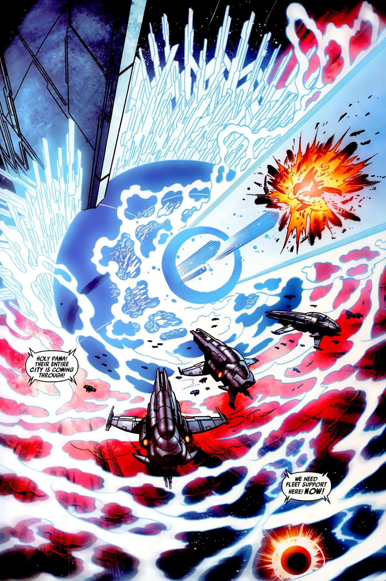 Read online Secret Invasion: War of Kings comic -  Issue # Full - 30