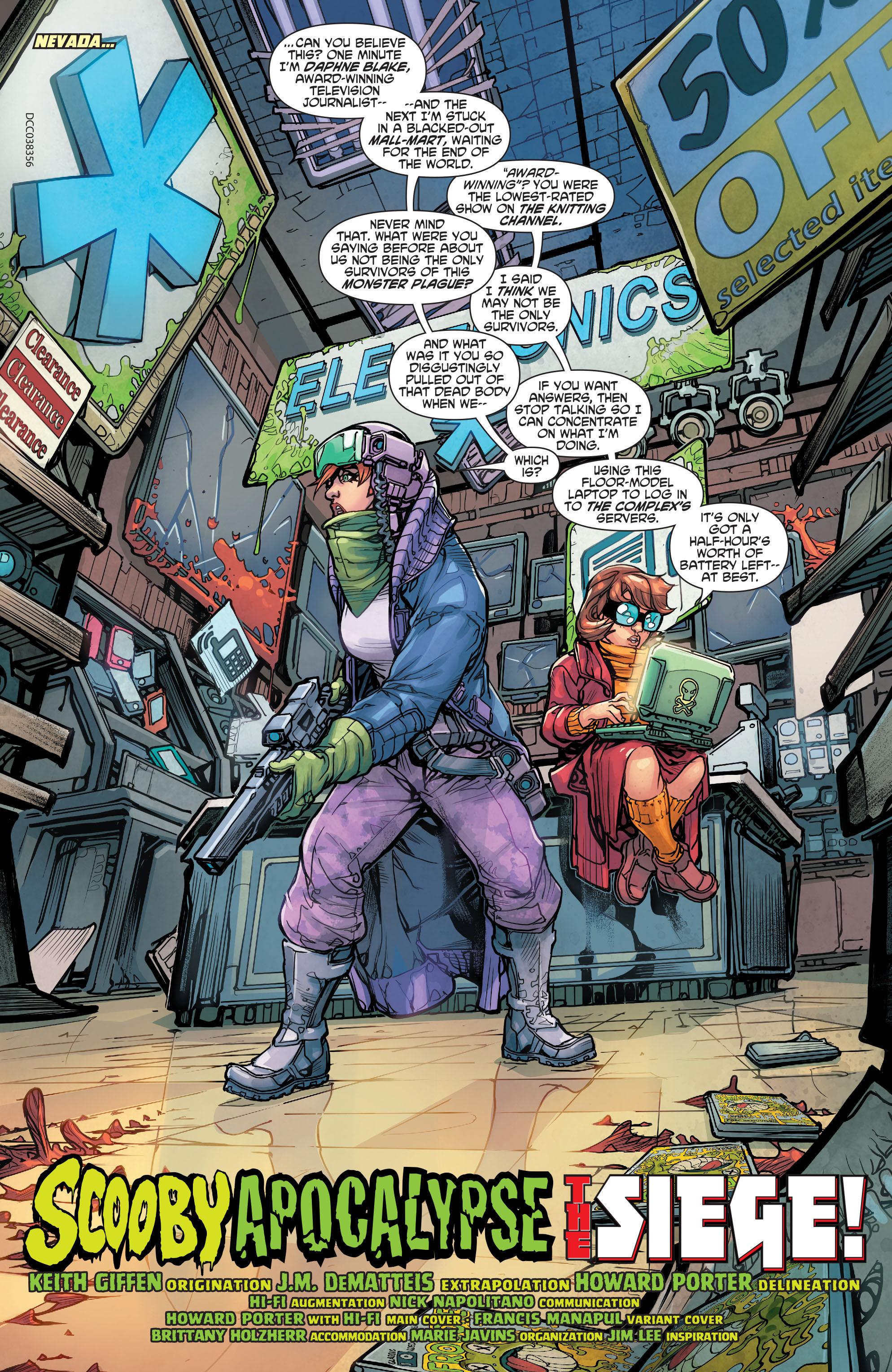 Read online Scooby Apocalypse comic -  Issue #5 - 4
