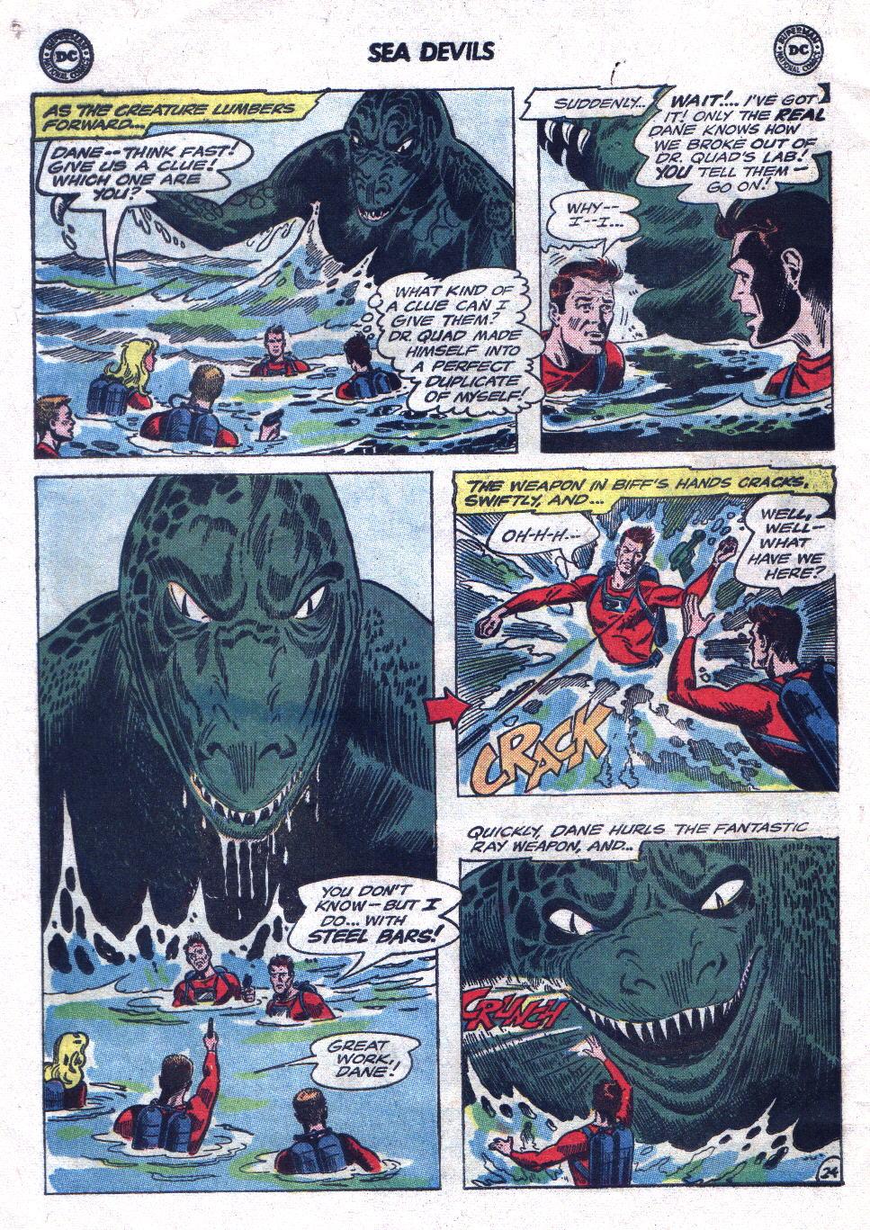 Read online Sea Devils comic -  Issue #21 - 32