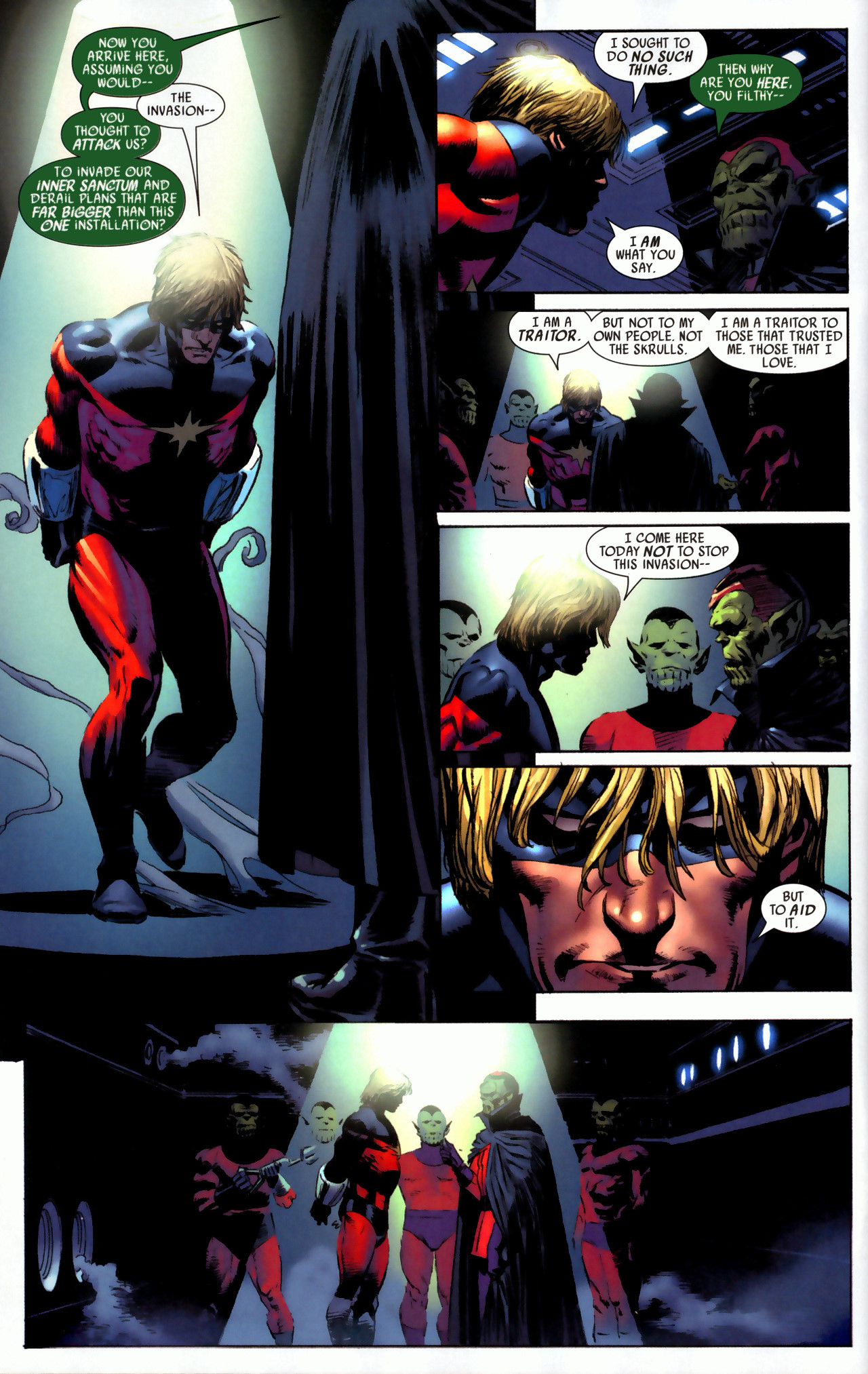 Read online Secret Invasion: Who Do You Trust? comic -  Issue # Full - 10